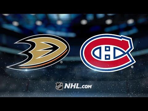 Petry, Niemi lead Canadiens past Ducks, 5-2