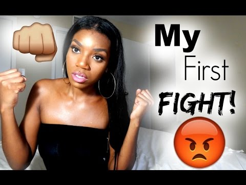 my first fight story