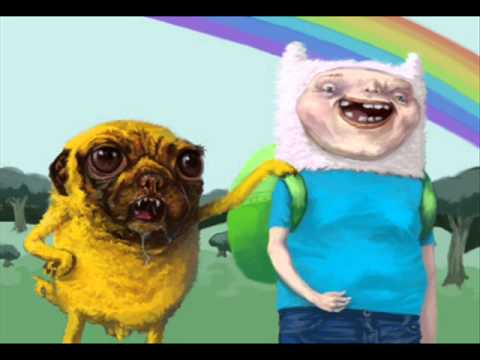 Adventure Time Balloon Music Dubstep