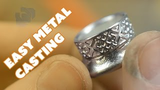 Easy Metal Casting with a Silicone Mold and Pewter - Prop: Live from the Shop
