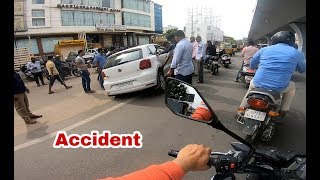 Volkswagen POLO crashed - Daily Observation!!