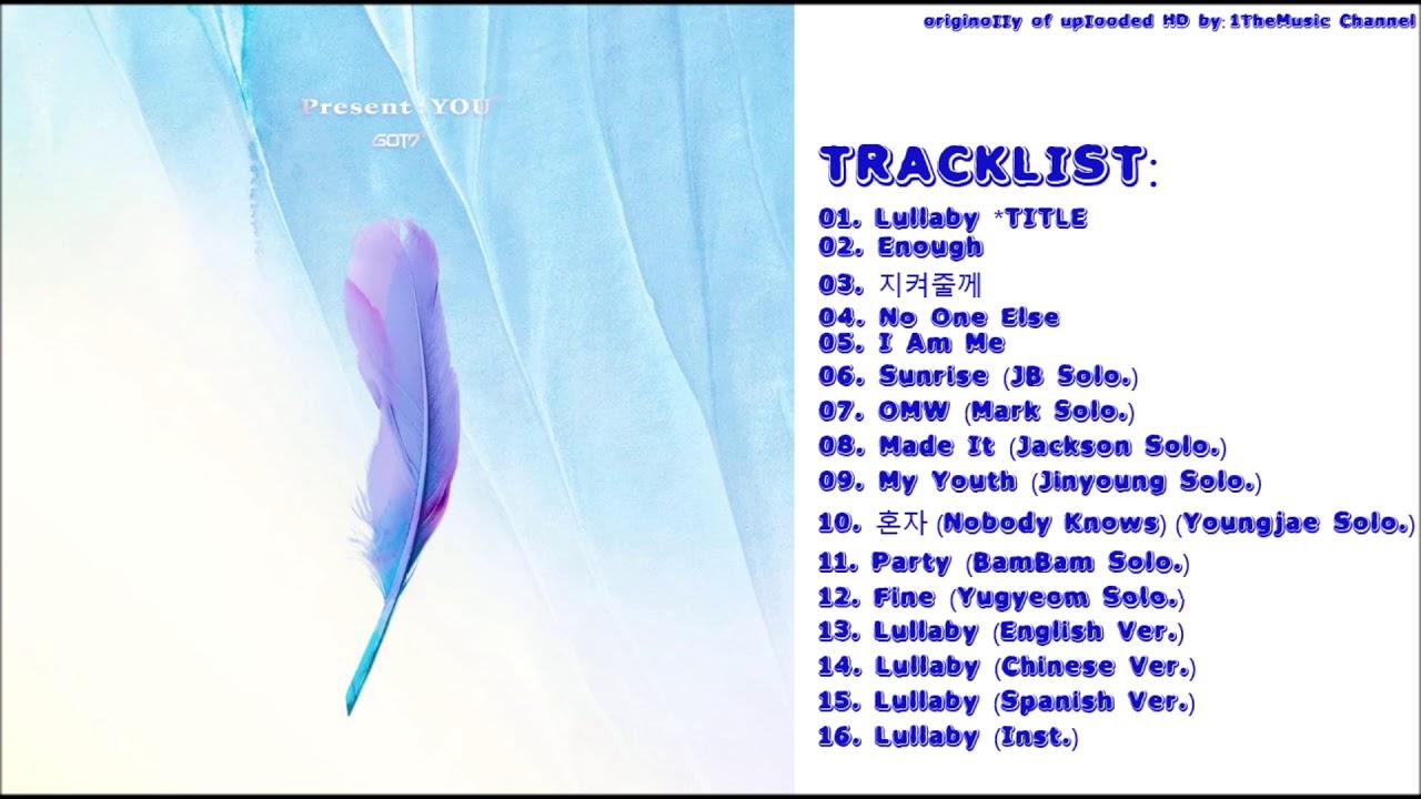 [FULL ALBUM] GOT7 - Present : YOU (3rd Album)
