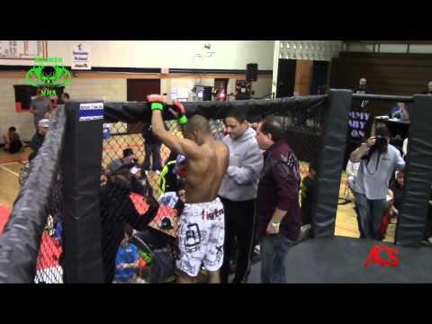 ACSLIVE.TV Presents Madmen MMA Night Of Champions Dwight Hunter vs Khaos Williams main 170 belt
