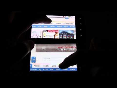 HTC ThunderBolt vs Motorola DROID X web browsing times