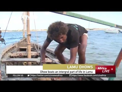 Dhow boats an integral part of life in Kenya's Lamu archipelago