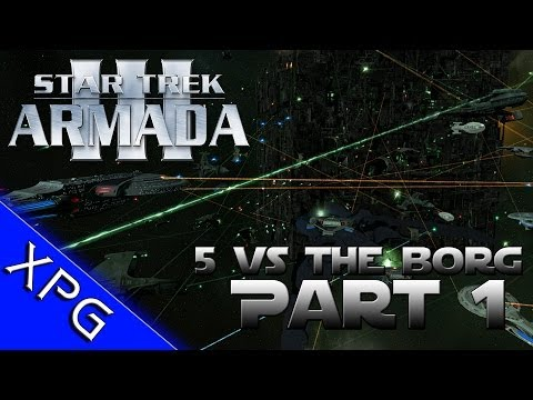 Lets Play... Star Trek Armada 3 (5 Players vs Borg) Part 1 (Sins of a Solar Empire Total Conversion)