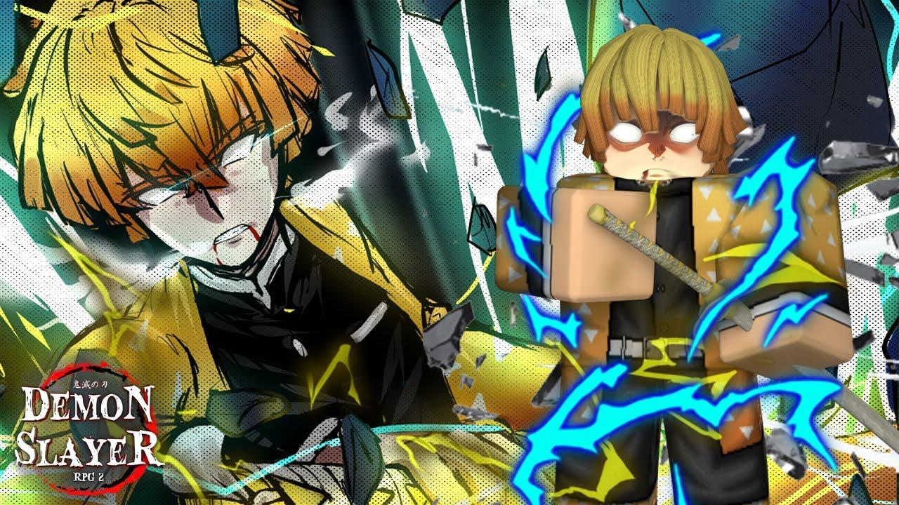 [NEW GAME] Full Thunder Breathing Showcase! | Demon Slayer RPG 2 | ROBLOX