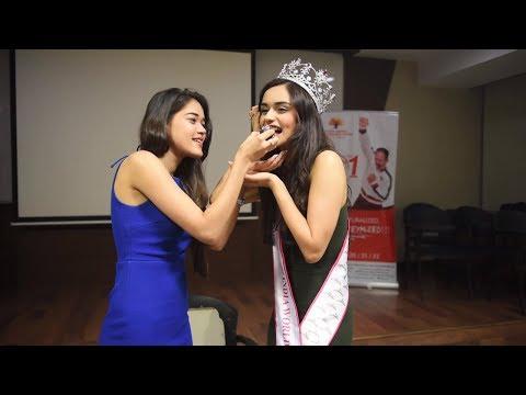 Campus Princess 2017 : Season Opener Manushi Chhillar