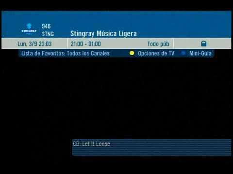 Directv LA Stingray Music Channel Surfing 2018
