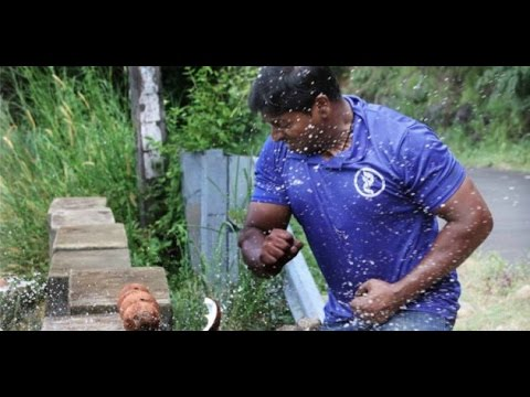 world-record-indian-man-smashes-124-coconuts-with-bare-hands-in-1-minute-to-set-world-record
