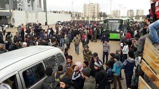 طريق الموت.. هكذا روى أهالي الوعر خروجهم من المدينة.. كيف خدعتهم المليشيات الأفغانية؟ - هنا سوريا