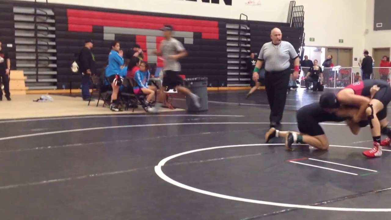Wrestling CIF Southern Section Consolation Match - YouTube