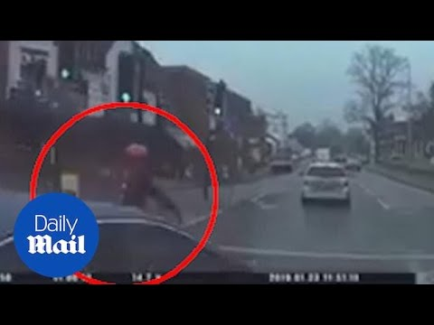 Drug Deal Drives Into Cyclist As They Flee Police!!