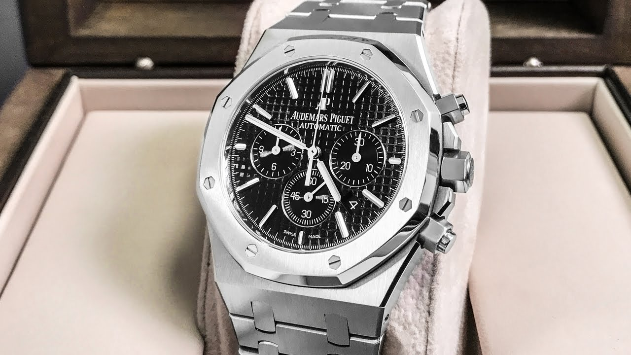 f27e709a42f Audemars Piguet Royal Oak Chronograph – 41MM AP Chrono Review - YouTube