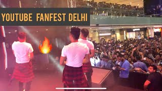 YOUTUBE FANFEST DELHI PERFORMANCE 2019 BEST DAY OF OUR LIFE DSP Vlogs