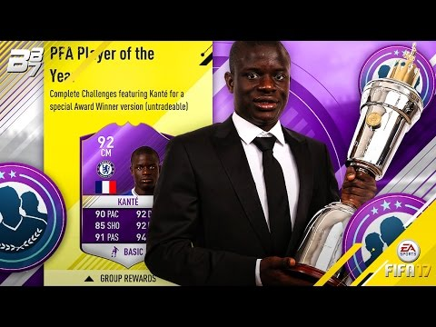 PLAYER OF THE YEAR KANTE! 92 RATED BEAST SBC! | FIFA 17