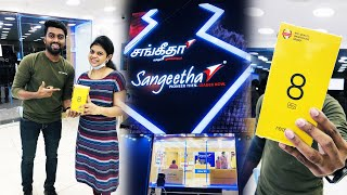 Surprising Ani with a Brand New Mobile - Sangeetha Mobiles | Realme 8 Pro - Unboxing & Review