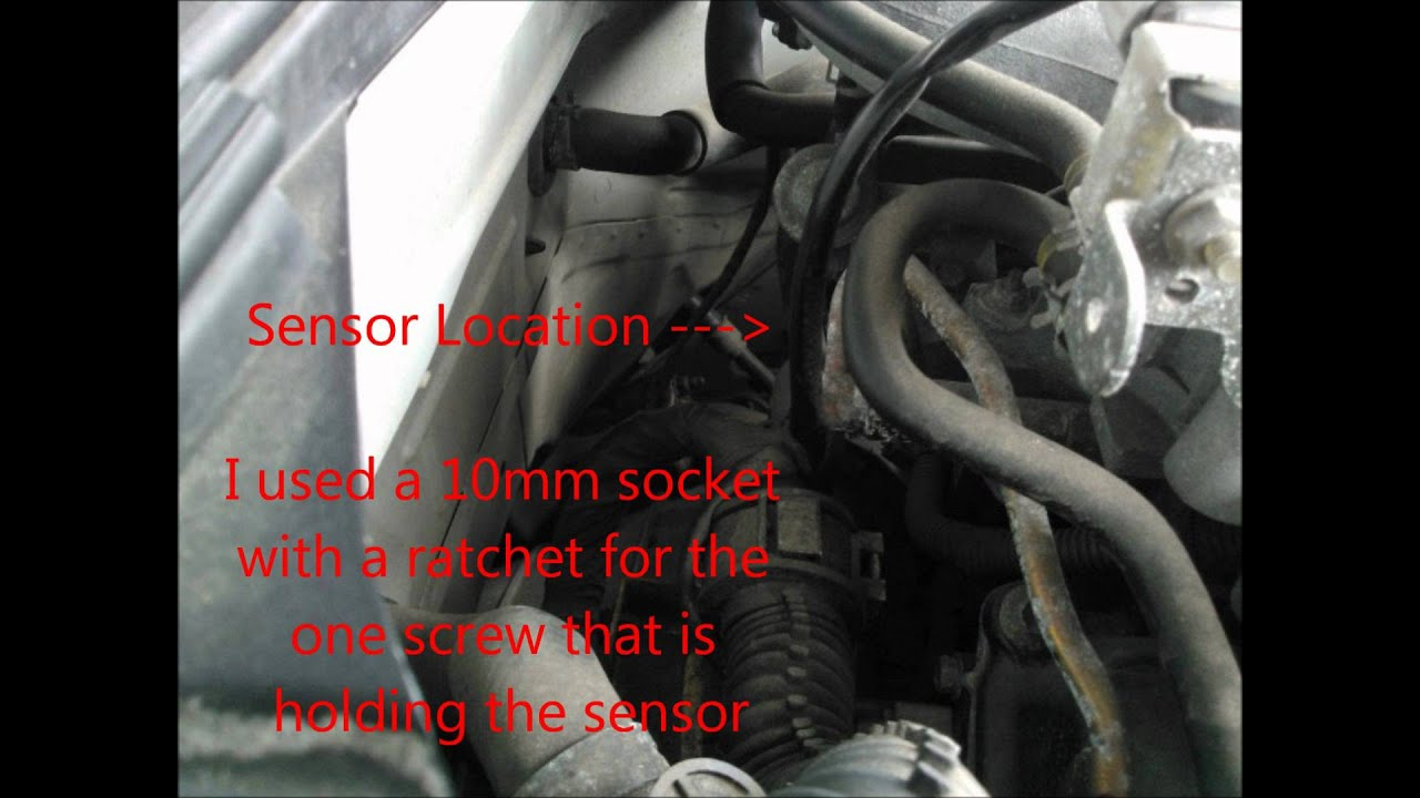 Camshaft Sensor Removal On 350z Youtube