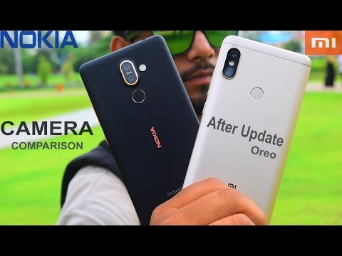 Redmi Note 5 Pro vs Nokia 7 Plus  -  Camera comparison #Dual camera#video test
