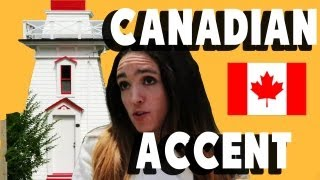 How To Speak Canadian (nova Scotian Accent)
