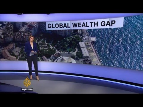 Super-rich: 62 people own as much as half the world