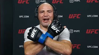 UFC Vegas 13: Glover Teixeira Interview after Submission Win
