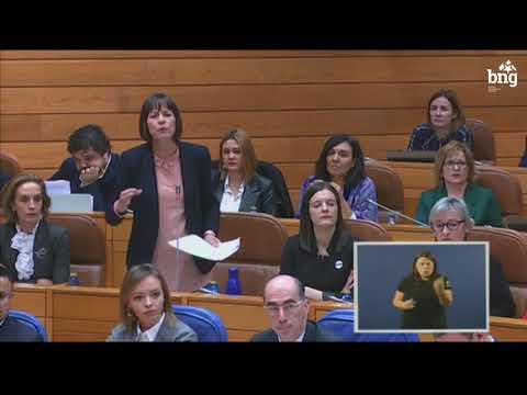 Ana Pontón interpela a Feixóo sobre o peche do paritorio de Verín