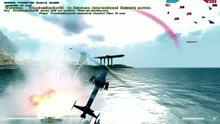 Battlefield 2 -  Chopper vs Jet (Solo) - Full HD 60 FPS - TV missilFRANCE