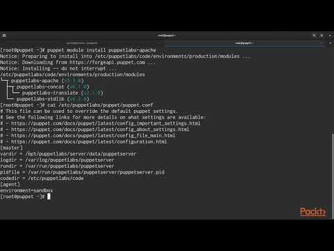 Hands-On Infrastructure Automation with Puppet 6: The Puppet Forge | packtpub.com