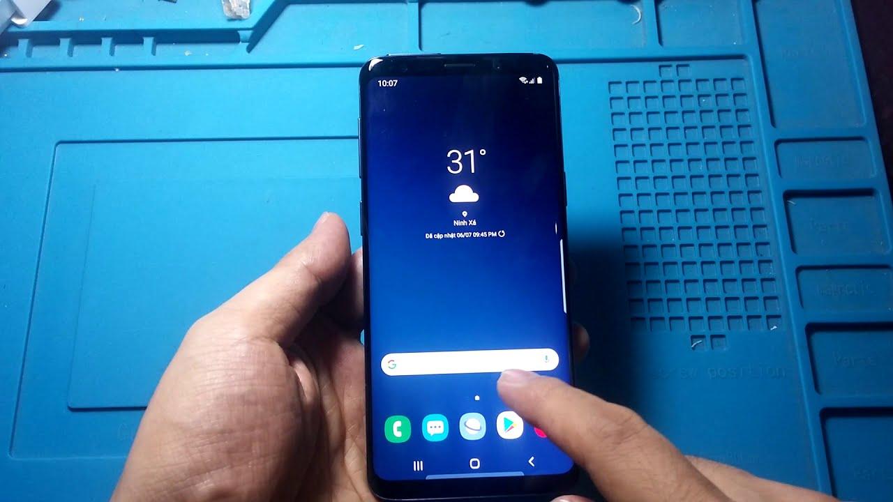 Samsung SM-G960U Galaxy S9 AT&T Convert Unlocked version remove bloatware  PIE