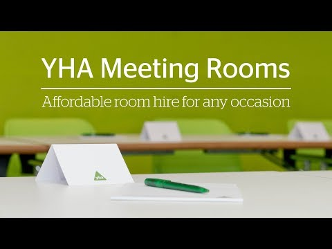 YHA Meeting Rooms - Affordable room hire for any occasion