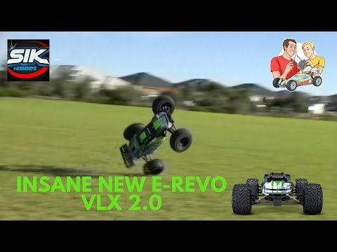 New Traxxas E Revo VXL - Review And Unboxing