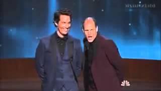 Emmy 2014 - Matthew McConaughey & Woody Harrelson (True Detective) presentatori [SUB ITA]