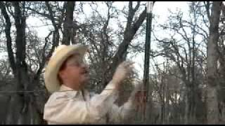 Deer Proof Witht-post Fence Extender  Installation  Demo