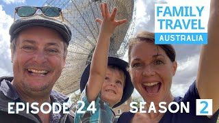 WE VISIT THE DISH & THE KING! Country NSW | Family Travel Australia EP 24 SEASON 2