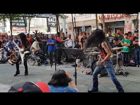 Sakura band feat Sentuhan buskers memang power rock