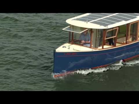 Secret 33 solar electric ferry