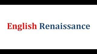 Renaissance | বাংলা লেকচার | English Renaissance Age in History of English literature