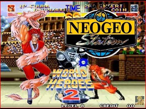 World Heroes 2 Lev 8 Kotaro Fuuma No Lose Playthrough