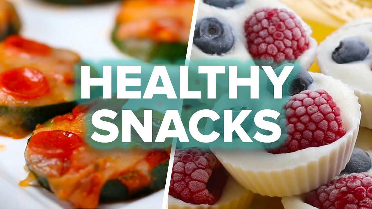 8 healthy after school snacks youtube