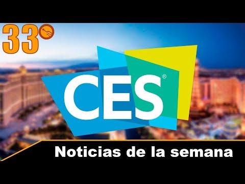 Novedades del CES 2018 - Noticias de la semana 33