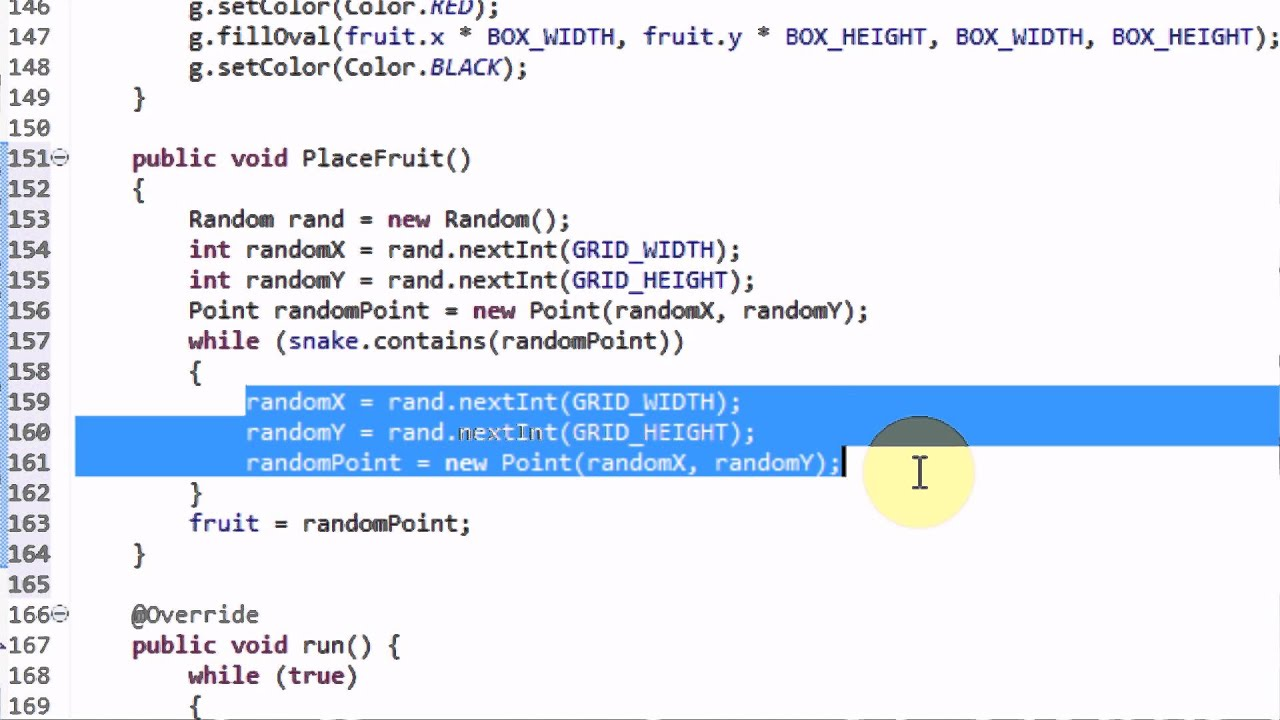 Making snake in java part 5 implementing growth and resetting making snake in java part 5 implementing growth and resetting games youtube baditri Gallery