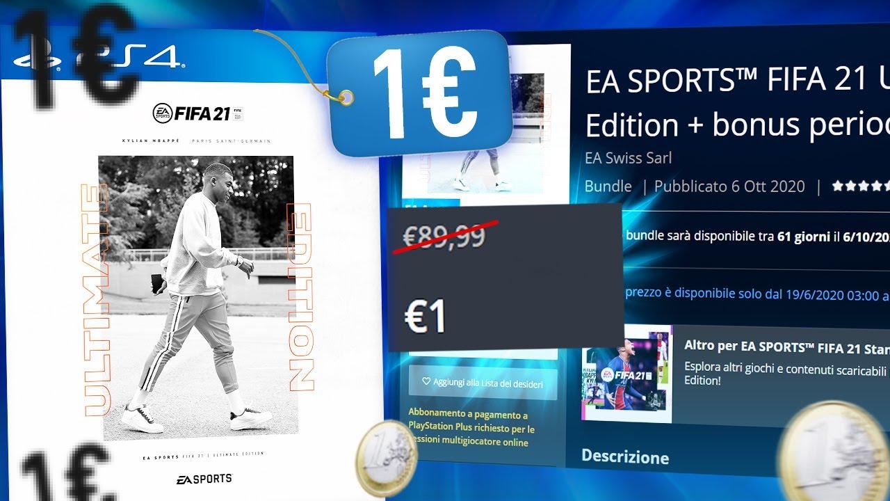 COME PAGARE FIFA 21 IL MENO POSSIBILE (PER DAVVERO)