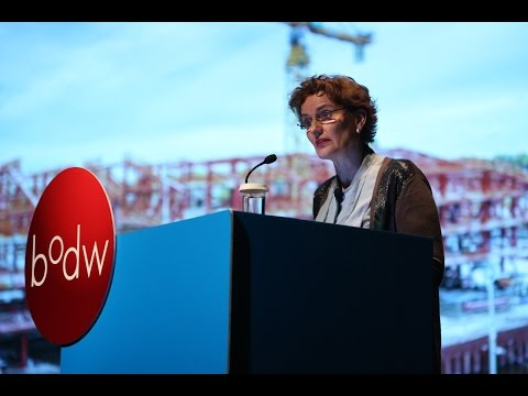 Business of Design Week (BODW) - Culture & the City. Lecture by Francine Houben.