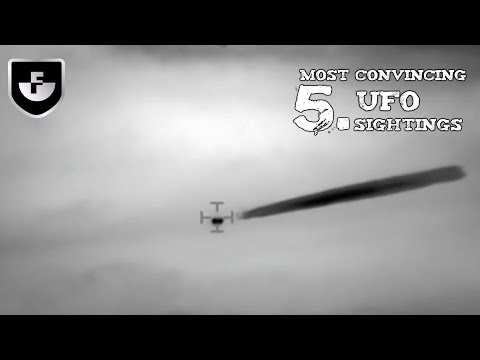 5 Most Convincing UFO Sightings Caught on...