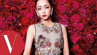 Vogue Taiwan創刊二十周年之際,特別邀請來台辦演唱會的安室奈美惠Namie...