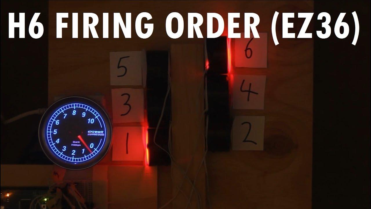 Audiovisual Demonstration Of Subaru Tribeca Etc Ez36 Boxer 6 3 6r Engine Diagram Cylinder Firing Order