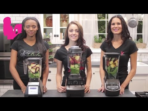 BLENDTEC vs VITAMIX vs NINJA Dr. Oz Green Juice Test