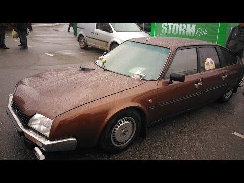 Citroën CX 20 любовно отреставрирован