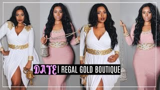 Regal Gold Boutique | Plus size Curvy| Date Night Outfits Lookbook